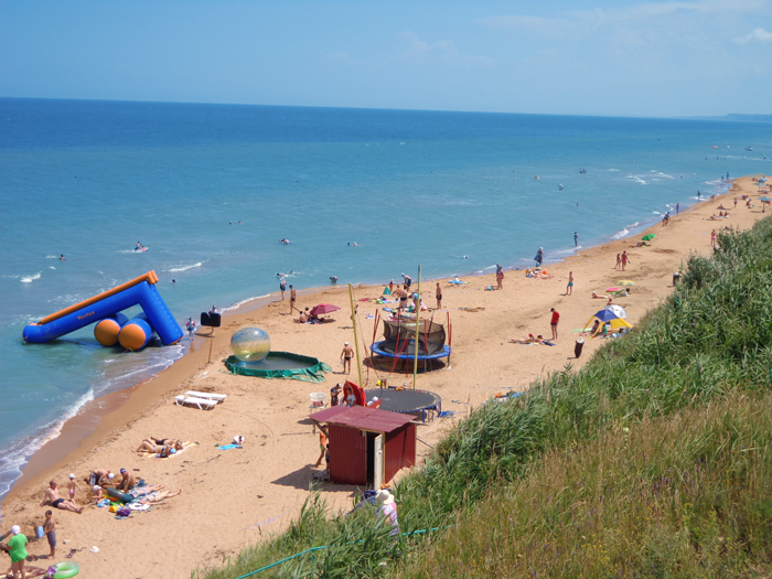 Пляж Кучугуры